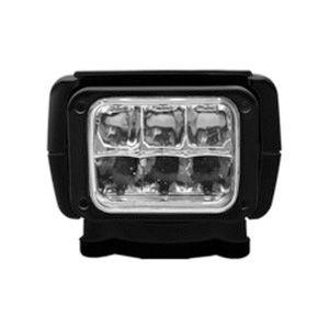 ACR RCL-85 6 x 30 W 12 or 24 VDC 240000 cd LED Remote Controlled Searchlight, Black|1957