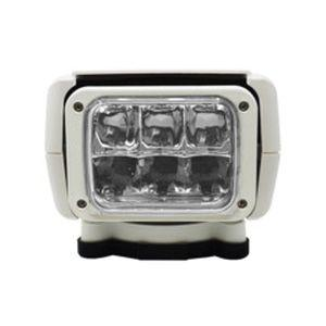 ACR RCL-85 6 x 30 W 12 or 24 VDC 240000 cd LED Remote Controlled Searchlight, White 1956