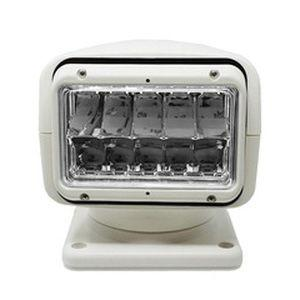 ACR RCL-95 10 x 50 W 12 or 24 VDC 460000 cd Remote Controlled LED Searchlight, White 1958