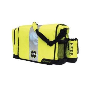 ACR RapidDitch Buoyant Abandon Ship Survival Gear Ditch Bag, High Visibility Yellow|2278
