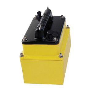 AIRMAR 33 ft Cable 1 kW Low and Medium Frequency 9 Pin In-Hull Depth Transducer | M265C-LM-9N2