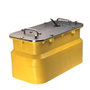 AIRMAR 2 to 3 kW 28 to 60 kHz Low 130 to 210 kHz High Chirp-Ready Pocket/Keel Mount|R599C-LH