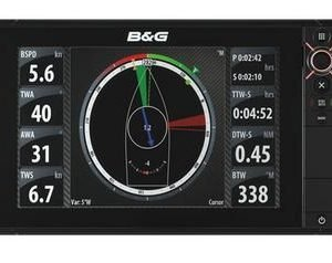 B&G Zeus-12 12 in Color Touchscreen LCD Display Multi-Function Display with Insight Basemap|000-11194-001