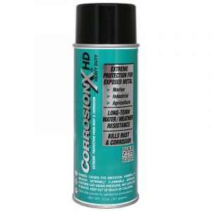 CORROSION TECHNOLOGIES CorrosionX 12 oz Aerosol Heavy Duty Inhibitor, Light Brown|90104