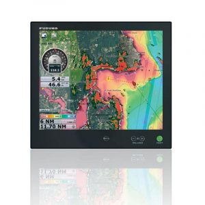 FURUNO 17 in Multi-Touch LCD IP56/IP22 Hi-Brite Multi-Touch Marine Display for NavNet Tztouch|MU175T