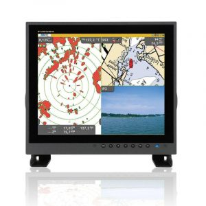 FURUNO 19 in Color LCD IP56/IP22 Sunlight Viewable Picture-in-Picture Super Bright Marine LCD Monitor|MU190HD