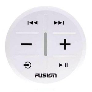 FUSION ANT Wireless Stereo Remote for MS-RA70, MS-RA70N, MS-RA70NSX, MS-BB100 Stereo Active, PS-A302 Panel Stereo, RV-IN1501, MS-RA770, MS-RA670, MS-RA210 Marine Stereos, White|010-02167-01