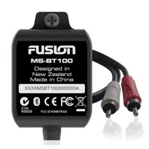 FUSION MS-BT100 2-5/16 x 1-11/16 x 9/16 in Marine Bluetooth Audio Module for MS/CA Series Marine Stereos|MS-BT100