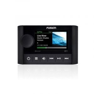 FUSION MS SRX400 Apollo Series Marine Zone Receiver with Built-In Wi-Fi, AM/FM/Bluetooth/Apple AirPlay 2/Wi-Fi Audio Streaming/UPnP|010-01983-00