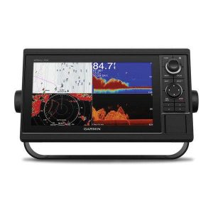 GARMIN GPSMAP 1042xsv Series 10 in WSVGA Chartplotter/Sonar Combo with SideV, ClearV and Traditional CHIRP, GT52HW-TM Transducer, BlueChart G3 and LakeV G3|010-01740-21