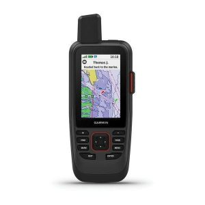 GARMIN GPSMAP 86sci 3 in 240 x 400 pixel 65K Color TFT Transflective Display IPX7 Marine Handheld GPS with BlueChart g3 Coastal Charts and inReach Capabilities|010-02236-02