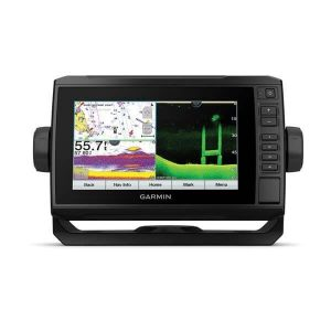 GARMIN ECHOMAP UHD 74cv Series 7 in Touchscreen WVGA Chartplotter with Ultra High-Definition ClearVu and Traditional CHIRP, GT24UHD-TM Transducer, BlueChart G3|010-02335-01