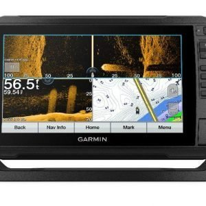 GARMIN ECHOMAP UHD 93sv Series 9 in WVGA Fishfinder/Chartplotter with Ultra High-Definition SideVu and ClearVu and Traditional CHIRP, GT54UHD-TM Transducer, US LakeVu G3|010-02342-01