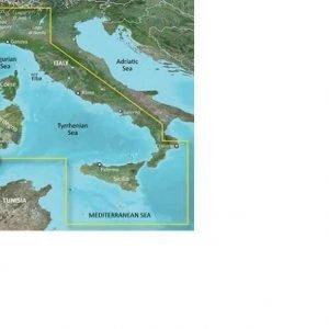 GARMIN BlueChart g3 MicroSD/SD Card Chart, Mediterranean Sea, Central-West|010-C0770-20