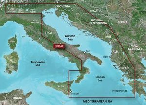 GARMIN BlueChart g3 MicroSD/SD Card Chart, Italy, Adriatic Sea|010-C0772-20