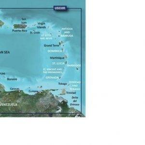 GARMIN BlueChart g3 MicroSD/SD Card Chart, Southeast Caribbean|010-C0731-20