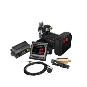 GARMIN Reactor 40 11.5 to 30 VDC QVGA Color LCD Display Hydraulic Corepack with Smart Pump v2 and GHC 20 Marine Autopilot Control Unit|010-00705-79