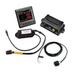 GARMIN Reactor 40 QVGA Color LCD Display Steer by Wire Corepack with GHC 20 Marine Autopilot Control Unit for Yamaha Helm Master Systems|010-00705-87