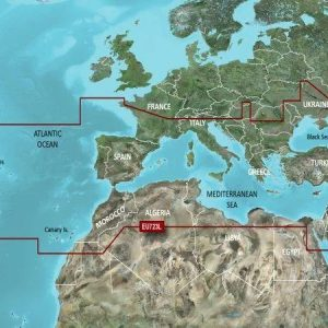 GARMIN BlueChart g3 Vision MicroSD/SD Card Chart, Southern Europe|010-C1157-00