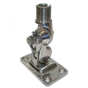 GLOMEX Stainless Steel 4-Way Heavy Duty Ratchet Mount for Glomeasy Antennas|RA107SSFME