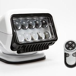 GOLIGHT Stryker ST Series 40 W 12 VDC LED Spotlight with Wireless Handheld Remote, White|30004ST