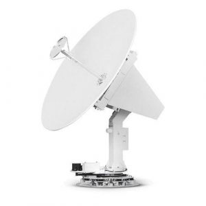 INTELLIAN s100HD WorldView 42 dBW Ku-Band, 45 dBW Ka-Band Maritime Antenna, 59.64 in H x 54.33 in Dia, 42.9 in Reflector|T3-107AT3 – TRUCK FREIGHT CHARGES APPLY