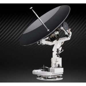 INTELLIAN V100 Ku-Band Maritime Stabilized Antenna with PLL LNB, 59.63 in H x 54.33 in Dia, 41 in Reflector|V3-11B-PLW – TRUCK FREIGHT CHARGES APPLY