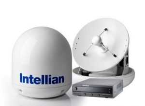 INTELLIAN Empty Dome and Baseplate Assembly for GX100/v100/v100Ka/t100W/t100Q/s100HD Antenna Systems|V3-8051