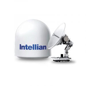 INTELLIAN V85NX Ku-Ka Convertible Maritime VSAT Antenna System, 48.4 in H x 44-1/2 in Dia|V5-1102 V85NX – SHIPPING CHARGES APPLY