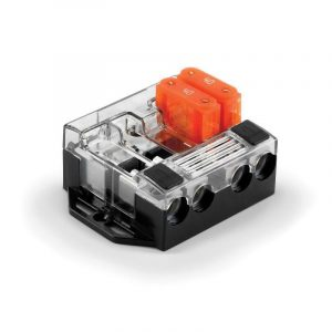 JL AUDIO Maxi 4-Way Fused Distribution Block, 80 A|90462