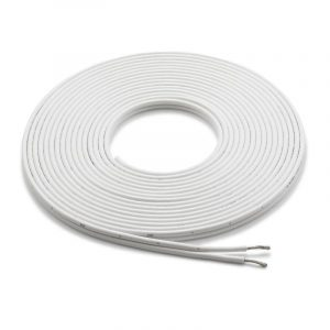 JL AUDIO 12 AWG Tinned Oxygen Free Copper Premium Marine Parallel Conductor Speaker Cable, White, 25 ft|90253