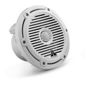 "JL AUDIO M650-CCX-CG-WH 6-1/2″ Marine Speakers with White ""Classic Grilles"" 150W Peak Power  91782"