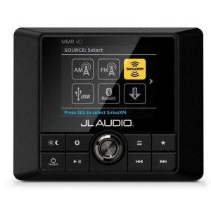 JL AUDIO MMR-40 Full-Function NMEA2000 Network Wired Remote Controller with Full Color LCD Display for MediaMaster Source Unit|99910