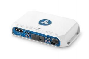 JL AUDIO 400 W 4 Channel Class D Full-Range Marine Amplifier with Integrated DSP|98647