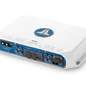 JL AUDIO 400 W 4 Channel Class D Full-Range Marine Amplifier with Integrated DSP 98647