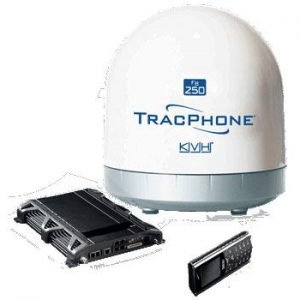 KVH Compact Dome with 82 ft Antenna Cable|34-3742A – SHIPPING CHARGES APPLY