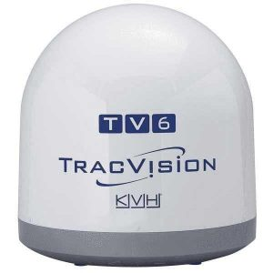 KVH Empty Dome and Baseplate Kit for TracVision TV6 Satellite Television System|01-0371 – SHIPPING CHARGES APPLY