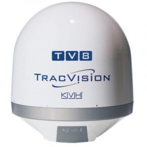 KVH Empty Dome and Baseplate for TracVision TV8 Satellite Television System|01-0387 – SHIPPING CHARGES APPLY