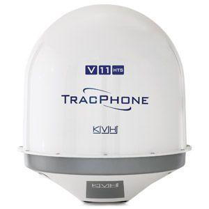 KVH TracPhone Satellite Antenna with mini-VSAT Broadband HTS Service|01-0415-11 – SHIPPING CHARGES APPLY
