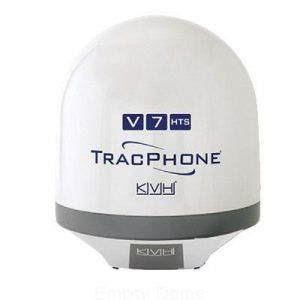 KVH  01-0330-01 TracPhone V7-HTS Empty Dome/Baseplate; Complete Assembly | 01-0330-01