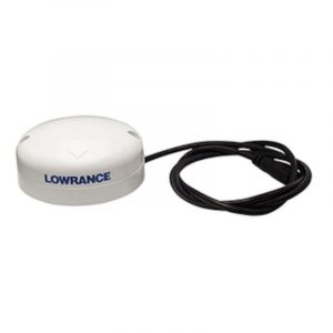 LOWRANCE Pole/Surface Mount Point-1 GPS Antenna with Built-in Compass 000-11047-001
