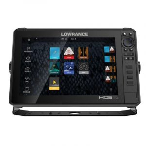 LOWRANCE HDS-12 LIVE 12 in LED Multi-Touchscreen C-MAP US Enhanced Basemap Fishfinder/Chartplotter with Active Imaging 3-in-1 Transducer, Pure White|000-14428-001