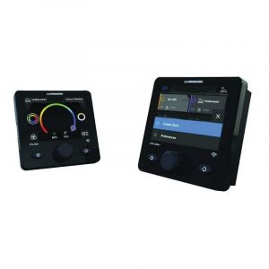 LUMISHORE Lumi-Link STV 2204i 3.5 in Full Color LCD Display IP68 Dash Mount Display with Full Color Change Controller, 10.5 to 31 VDC|60-0369