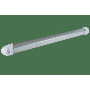 LUMITEC Rail2 11 W 10 to 30 VDC 900 Lumens Dimmable/Non-Dimmable LED Utility Light, Brushed, White/Red/Blue|101243