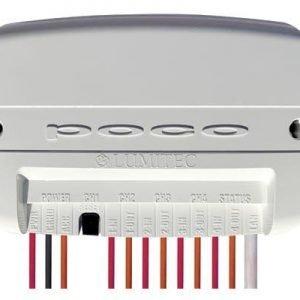 LUMITEC Poco 10 to 30 VDC Digital Lighting Control for Lumitec PLI Enabled Lights, White|101599