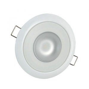 LUMITEC Mirage 6 W 10 to 30 VDC 300 Lumens Flush Mount Non-Dimmable LED Down Light, White, White/Red/Blue/Purple|113120