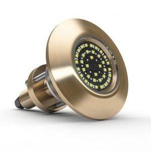 LUMISHORE SUPRA THX803 10.5 to 31 VDC 27000 Lumens 12000 Fixture Lumens Thru-Hull Underwater LED Light, Blue/White|60-0345