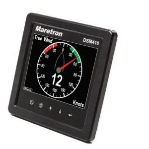 MARETRON 4.1 in QVGA Active Matrix TFT LCD Multi-Function High Bright Color Graphic Display, Black|DSM410-01