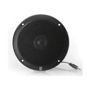 POLY-PLANAR 20 W 4 Ohm Flush Mount VHF Extension Speaker, Black|MA-1000RB