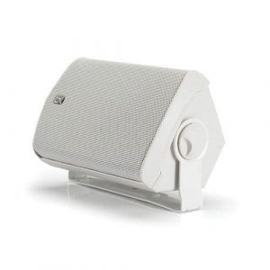 POLY-PLANAR 3 in 100 W 4 Ohm Compact Box Speaker, White|MA-7500/WHT